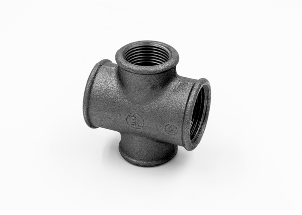 Factory supplier malleable cast iron Cross, reducing-180R